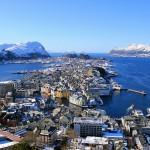 Alesund en el corazón de los fiordos