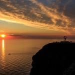 El sol de medianoche, luz solar durante semanas